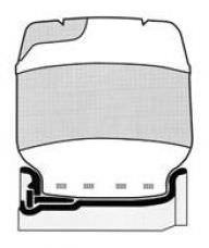 Opona do wózka widłowego