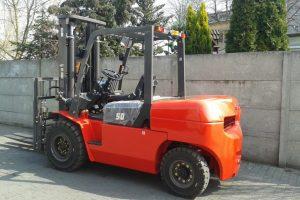 Nowe chińskie wózki widłowe Hangcha HC