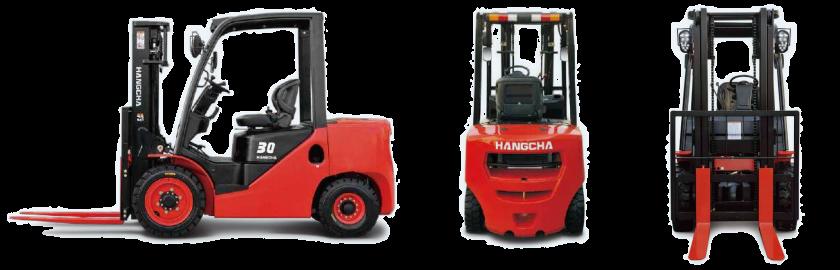 Wózek widłowy Hangcha HC XF