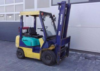 Używany wózek widłowy Komatsu FG15