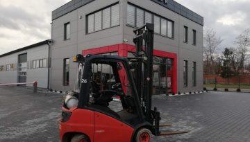 Używany wózek widłowy Linde H16