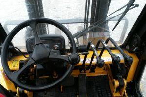 Używany wózek widłowy Nissan F04D400
